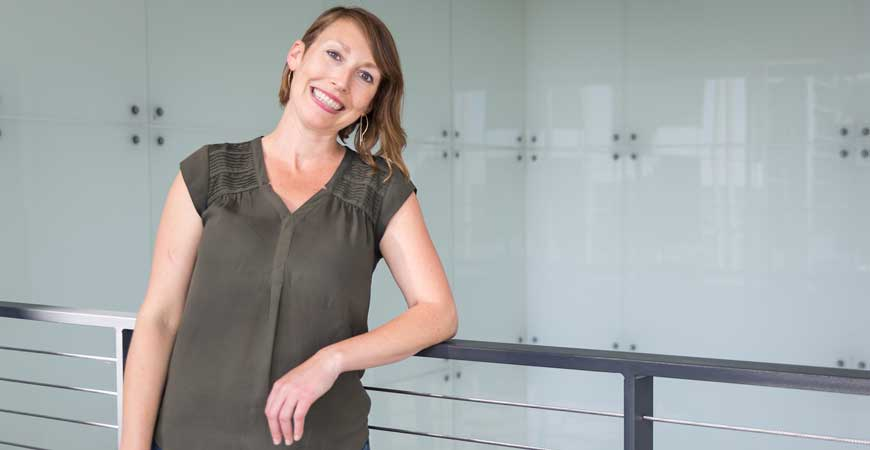 School of Natural Sciences Professor Anna Beaudin