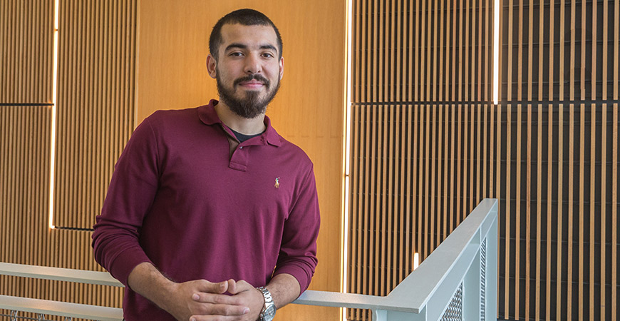 Marcus Shaw will celebrate his dream of earning a Ph.D. in sociology at the university's first Fall Commencement ceremony Dec. 16.