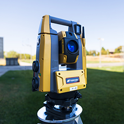 One of the pieces of equipment donated from Topcon Position Systems.